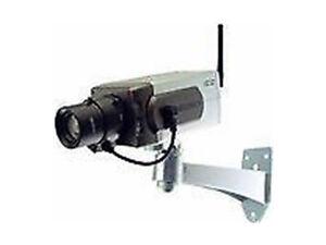 Dummy CCTV Camera - Motion detecting & panning - Dummy Security Camera