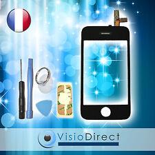 Ecran vitre tactile pour iPhone 3G noir + stickers autocollant + kit outils