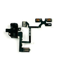 NEW BLACK HEADPHONE AUDIO JACK VOLUME FLEX CABLE REPLACEMENT FOR iPhone 4 GSM