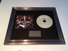 PERSONALLY SIGNED/AUTOGRAPHED JAI MCDOWALL - BELIEVE FRAMED CD PRESENTATION.