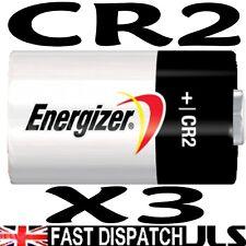 3 Energizer De Litio Cr2 Foto Batería Dlcr2 Kcr2 elcr2