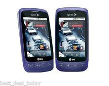 LG Optimus S LS670- Purple (Sprint) r Smartphone Cell Phone LS-670