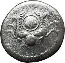 Vespasian 80AD RARE Silver Ancient Roman Coin Posthumous Two capricornii  i37639