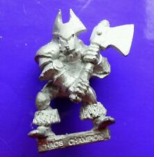 CH3 Champion of Chaos realms metal citadel GW games workshop Vostnar AxeLord axe