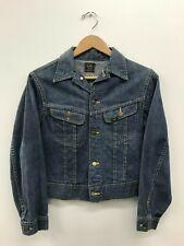 Vintage Lee 109-JY Denim Jacket 1970's Size:16 e4