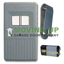 Linear LDO33 LDO50 Remote Garage Door Opener Two Button
