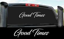 GOOD TIMES DIESEL 4X4 STICKER DECAL COUNTRY PICKUP POWER STROKE