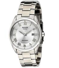 Accurist MB916S Gents Automatic Silver Dial Date Bracelet Watch RRP £199