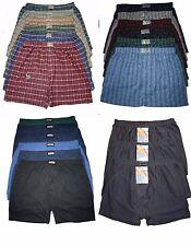 6 bis 15 Herren Übergröße Boxershorts Unterhosen Unterwäsche   Gr. 5(S)-13(6XL)