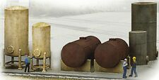Walthers-Industrial Tanks Detail Set - Cornerstone -- Kit - HO