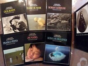 I GRANDI FOTOGRAFI / 6 RIVISTE FOTOGRAFICHE GRUPPO EDITORIALE FABBRI OTTIME...