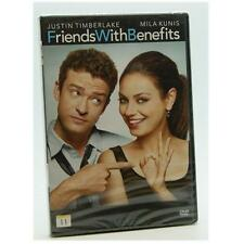 Friends with Benefits DVD Region 2 NEW SEALED Justin Timberlake Mila Kunis
