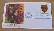 VTG US Postage Cachet First Day Cover #1836 The Tlingit Indian Art Mask 15c 1980
