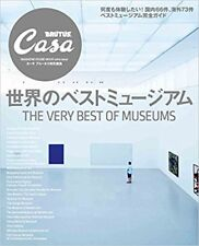 Casa BRUTUS 2017 Special Life Design Magazine THE VERY BEST OF MUSEUMS Japan