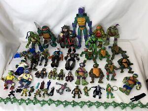 HUGE Lot of TMNT Figures Teenage Mutant Ninja Turtles 50+ figures- Some Vintage