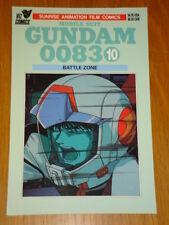 MOBILE SUIT GUNDAM 0083 #10 BATTLE ZONE GRAPHIC NOVEL