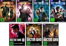 42 DVDs * DOCTOR WHO -  STAFFEL 3 + 4 + 5 + 6 + 7 + 8 + 9 IM SET # NEU OVP WVG
