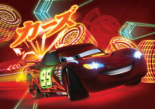368x254cm Wall mural Wallpaper for kids bedroom Disney Cars 2 Lightning McQueen