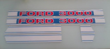 Ford 3000 hood decals