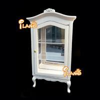 1:12 Dollhouse Miniature Furniture Display Cupboard Cabinet Shelf Showcase