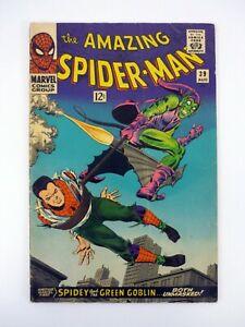 Amazing Spider-Man #39 Marvel Comics Green Goblin Appearance, 1st Romita VG 1966