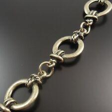 Antique Bronze Nickel-Free Alloy Extender Chain Drops 7mm x 3mm HA02573 100