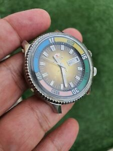 VINTAGE KING DIVER KD DAY DATE AUTOMATIC MENS WATCH - JBC