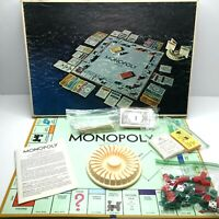 VINTAGE 1974 MONOPOLY Board Game ANNIVERSARY EDITION Parker Brothers COMPLETE