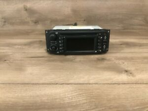 04_07 JEEP DODGE CHRYSLER RDS GPS AM/FM RADIO NAVIGATION CD PLAYER SCREEN OEM 3