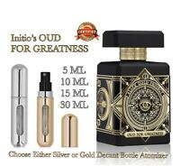 Initio Oud For Greatness EDP Perfume:🥇 Authentic 5 - 30ml Glass Decant Bottle🥇