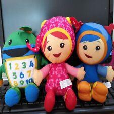 Set of 3 TEAM UMIZOOMI Bot MILLI Geo Plush 7 Inch Doll Fisher Price Kids Toy
