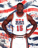 LARRY JOHNSON SIGNED AUTOGRAPHED 8x10 PHOTO TEAM USA VERY RARE BECKETT BAS