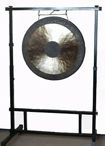 Bronze handcrafted Chau Gong 18, 24 or 38 inches (Tam Tam) with stand and mallet