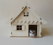 Hamster house pet house 12 by 12 inches