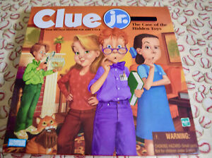 Clue Junior Board Game Replacement Parts & Pieces 1999 Hasbro Jr Parker Bros