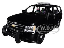 2008 CHEVROLET TAHOE UNMARKED POLICE VERSION BLACK 1/24-1/27 BY WELLY 22509 WEP