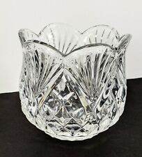 SHANNON  DESIGNS OF IRELAND 24% LEAD CRYSTAL CANDY DISH CANDLE BOWL