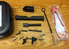 Glock 19 Gen3 9mm Complete Slide Upper, Lower Parts Kit & Case. Poly 80
