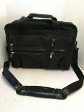 Tumi Ballistic Nylon Expandable Briefcase Organizer Black 26141D4 with Shoulder
