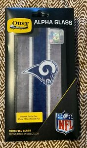 OtterBox ALPHA GLASS NFL Rams Screen Protector for iPhone 7 Plus / 8 Plus