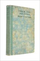 Twice Ten Stories and Verses by Marion St John Webb; Frank Rogers [Illustrator]
