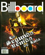 Billboard 1/08,Luis Jimenez,January 2008,NEW