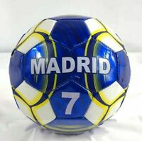 Madrid Soccer Ball Durable Foot Ball Official Size Five Blue and White