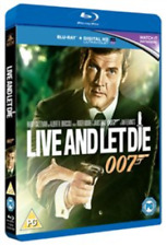 Live and Let Die Blu-ray 1973 James Bond Movie Classic W/ Roger Moore