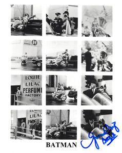YVONNE CRAIG SIGNED AUTOGRAPHED 8x10 PHOTO BATMAN & ROBIN BATGIRL BECKETT BAS