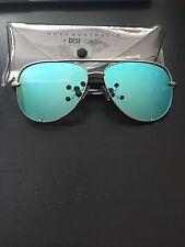 Quay Sunglasses Desi Perkins - High Key - Silver/Blue - BNIB 100% Authentic