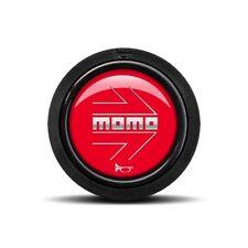 MOMO ARROW Horn Button Polished Red (Flat Lip) SPHOARWREDCHF