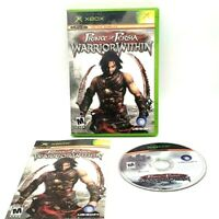 Prince Of Persia Warrior Within Microsoft Xbox Mint Excellent Condition Tested