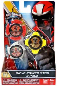 Power Rangers Power Star Series 1 Ninja Steel - Jungle Fury - Super Mega Force