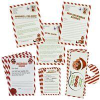 Elves Behaving Badly Christmas Mega Elf Stationary Set Letter Report Xmas Fun